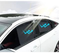 <b>Magnetic Car</b> Sun Shade 4PCS <b>Front</b> Rear Side Window ...