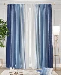 Комплект штор «<b>Ланджит</b> (синий)» | Шторы, Синий и Павильон
