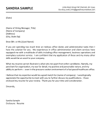 Cover Letter For Executive Assistant  cover letter executive     happytom co     cover letter sample  middot  administrative assistant resume sample