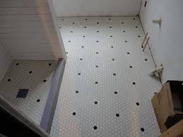 Hexagon Tile Floor Patterns Antique Repro Hex Tile Bathroom Floor Ceramic Tile Advice Forums
