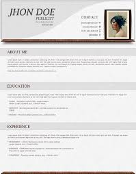 doc beautiful resume format in word resume template