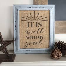 view in gallery framed burlap with quote displayed on furniture burlap furniture