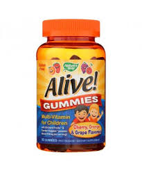 Nature's Way Alive Gummies Multi-Vitamin for ... - GoSupps.com