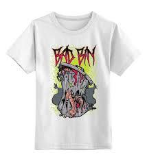 Детская футболка классическая унисекс <b>Bad Bin</b> #1997290 за ...