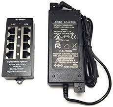 PoE Texas - 4 Port Gigabit Passive PoE Injector with ... - Amazon.com