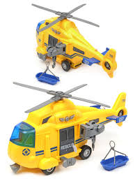 <b>Вертолет</b> COAST GUARD HELICOPTER 1:16, со зв. и св., фрикц ...