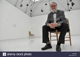 director of the kunsthalle art hall in bremen wulf herzogenrath director of the kunsthalle art hall in bremen wulf herzogenrath sits in the installation writing through the essay on the duty of civil disobedience
