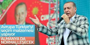 Cumhurbaşkanı Erdoğan: Almanya seçimden sonra normalleşecek