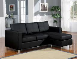 beautiful black leather l shaped sofa design feat simple living room rug also gray wall color black leather sofa perfect