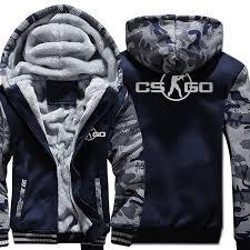 The <b>Game</b> CS GO Costume Men's Sportswear 2018 Winter Fleece ...