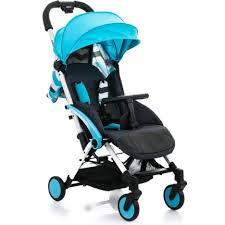 Детская <b>коляска прогулочная Babyhit Amber</b> Plus Blue Black (30164)