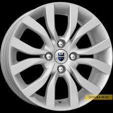 Купить <b>КиК КС620</b> (<b>15 Datsun</b>) (R15х6 4х98 ЕТ35 СВ58.5 Сильвер ...