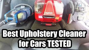 Best Upholstery Cleaner for <b>Cars</b> - <b>2018</b> - YouTube
