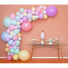 Amazon.com: <b>Unicorn balloon</b> garland kit, Leyzan 89pcs <b>Balloon</b> ...