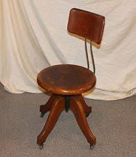 antique oak office desk chair swivel seat antique swivel office chair