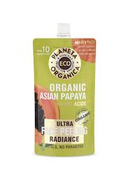 Planeta Organica ECO Organic asian papaya <b>Пилинг для сияния</b> ...