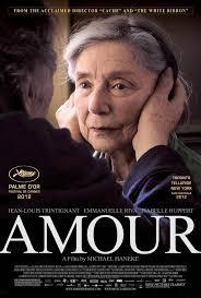 Resultado de imagem para amour 2012 poster