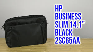 "Распаковка <b>HP Business</b> Slim 14.1"" Black 2SC65AA - YouTube"