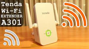 <b>Tenda A301</b> Wi-Fi Range Extender 300Mbps | Unboxing ...