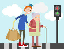 """Résultat de recherche d'images pour """"jeune personne qui aide une vieille personne"""""""