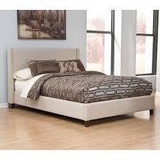 light beige upholstered bed ashley furniture bedroom photo 2