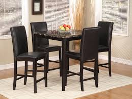 black kitchen dining sets:  modern kitchen palms  pc black pub dining set kitchen tables for small spaces black