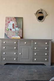 this is one of my favorite furniture make overs ive seen from the talented ladies at i just the color this turned out to be and those square knobs are bedroom furniture painted