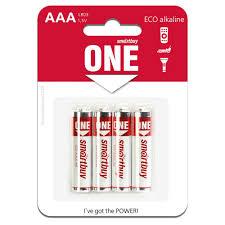 <b>Батарейка</b> LR03 (<b>ААА</b>) <b>Smartbuy</b> ONE 4 шт купить недорого в ...