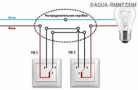 <b>Перекрестный</b> выключатель: схема подключения, чем ...