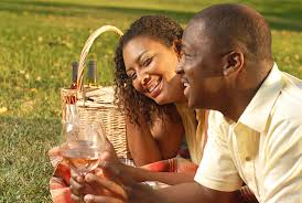 Image result for black couple at a picnic