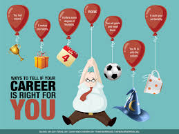 12 ways to tell if your career is right for you job career 14th 2012 by staff writers