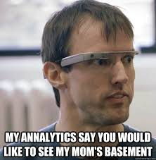 Google Glass Nerd memes | quickmeme via Relatably.com