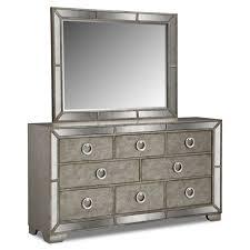 fabulous angelina dresser mirror with 8 drawer designs small medium beautiful mirrored bedroom furniture