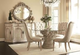 style dining set glass table