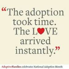 We ♥ Adoption Quotes on Pinterest | Adoption, Adoption Quotes and ...