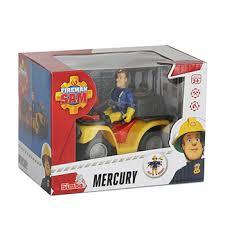 Пожарный Сэм Квадроцикл Меркурий со светом + фигурка ...
