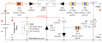 camera circuit page    video circuits    next grsafe sync to adapt digital camera to higher voltage flash