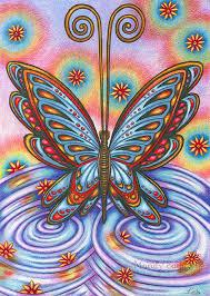 "<b>State Of Mind</b> - 8 x 10"" ART PRINT of a beautiful colourful <b>butterfly</b> ..."