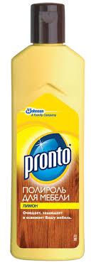 """Полироль для <b>мебели Pronto</b> """"<b>Лимон</b>"""", 300 мл — купить в ..."""