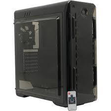 <b>Корпус GameMax OPTICAL</b> BK Black без БП с окном — купить ...