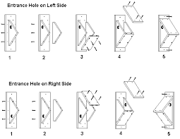 Side Mounted Birdhouse Plans With Side Entrance HoleAssembly Instructions