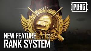 PUBG - New Feature - Rank System - YouTube