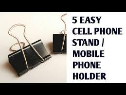 5 Easy <b>Phone Holder</b> Ideas | How to make <b>phone holders</b> in 5 mins ...