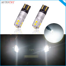 2pcs Car Auto LED <b>T10</b> Canbus <b>194 168</b> W5W bulb light canbus no ...