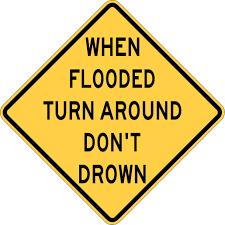 Image result for flood warning
