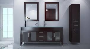 white modern bathroom furniture black