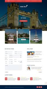 travel agency website template templatesonline website templates