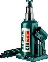 <b>Гидравлический бутылочный домкрат</b> 4т, 170-420мм, <b>KRAFTOOL</b> ...
