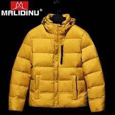 <b>MALIDINU 2019 Men Down</b> Coat Winter Thick Down Jacket Brand ...
