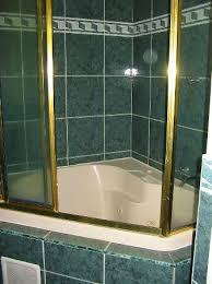 spa bathroom showers: spa bath uamp shower note the height of the side picture of